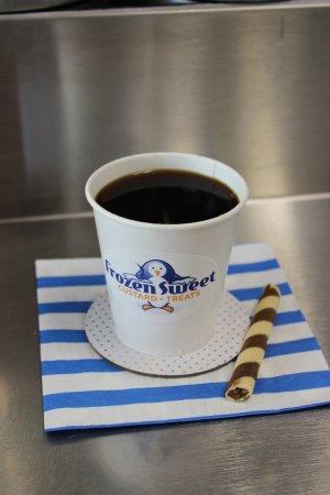 Duarte, Californië: fresh-pressed indonesian coffee