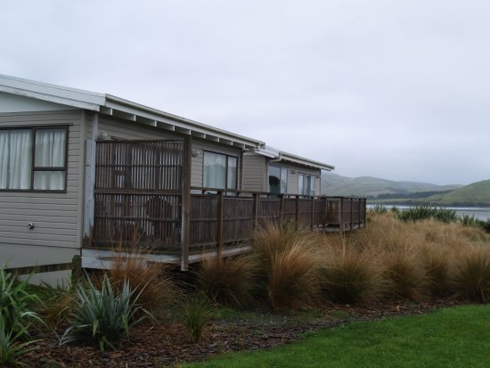 Waikawa, Nouvelle-Zélande : The two self contained cabins