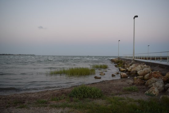 Rockport, TX: Evening walk
