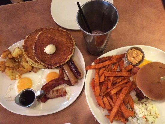 White Spot Restaurants Nat S Hearty Breakfast And Bc Sunny Start
