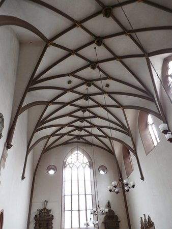 Marvelous Peterskirche: Multiple Arched Ceiling