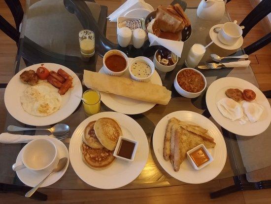 Casa De Goa Boutique Resort: In room breakfast