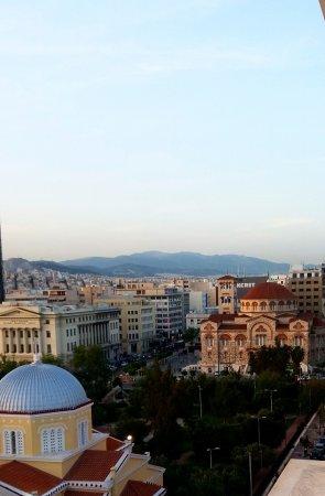 Piraeus Dream City Hotel : View from rooftop restaurant