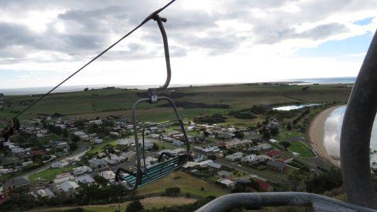 Stanley, Australia: The Nut chairlift
