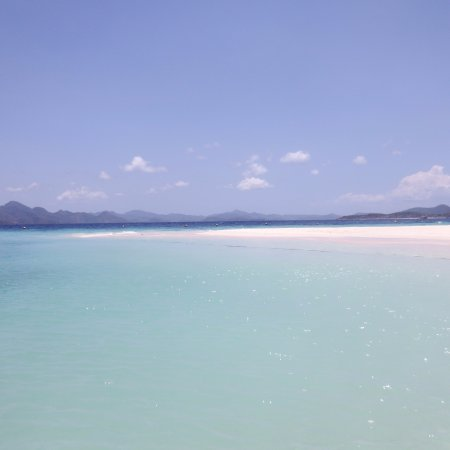 Culion, Filipina: View of Ditaytayan Island's sandbar (from the beach)