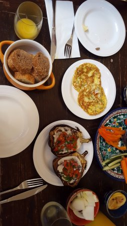 Arabesque: A small part of our breakfast