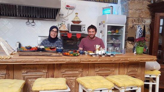 Arabesque: Preparing our breakfast