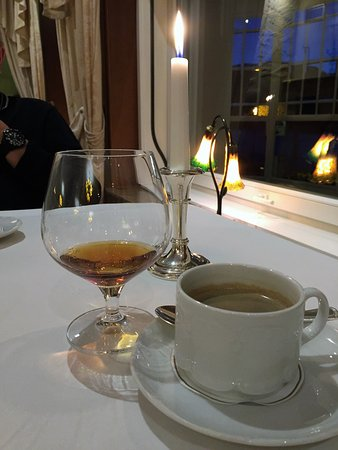 Le Chopin: Koffie en Cognac