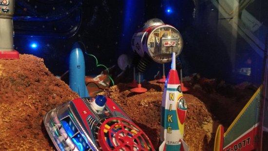 Nuremberg Toy Museum (Spielzeugmuseum) : Nur mit Zusatzlicht zu erkennen