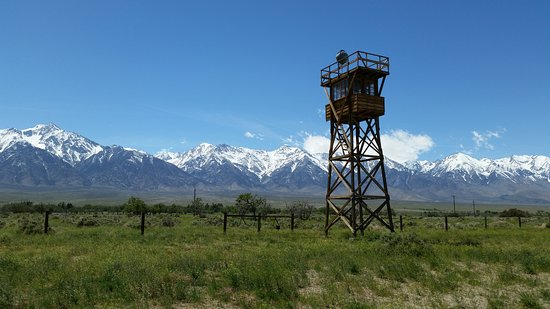 Independence, CA: Guard tower.