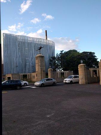 Auckland Domain: Domain Entrance