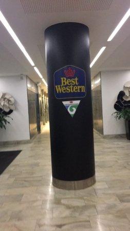 Best Western Plus Hotel Mektagonen: Vi leide et rom med badstu, kjøkken og balkong. Vi er veldig fornøyd med rommet! Kjøkkenet er go