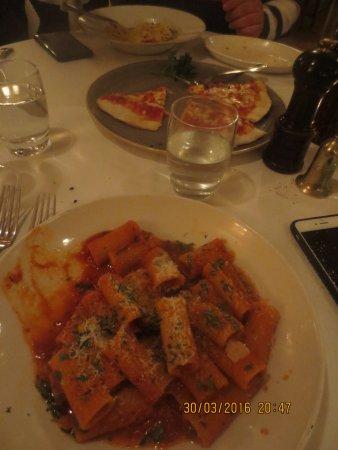 Orso's delicious rigatoni