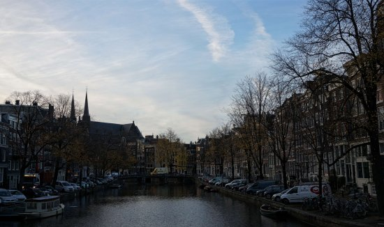 Herengracht: At the afternoon