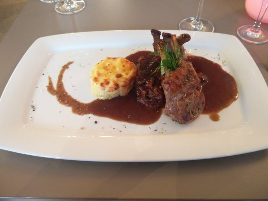 Kotschlitz, Germany: Rack of lamb