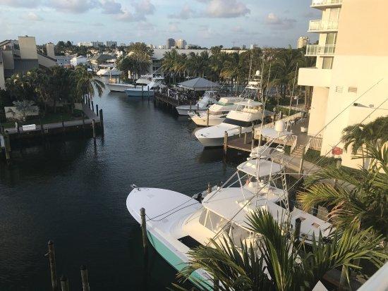 Hilton Fort Lauderdale Marina: Great location.
