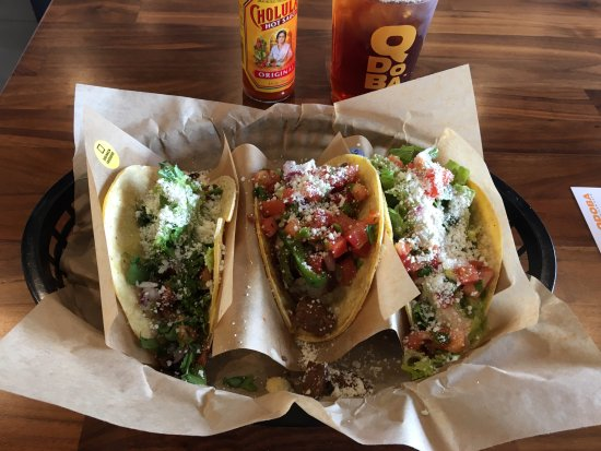 Webster, Estado de Nueva York: Qdoba Mexican Grill - my taco lunch