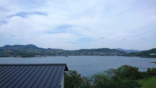 Kawatana-cho, Japan: 大崎半島から大村湾を臨む