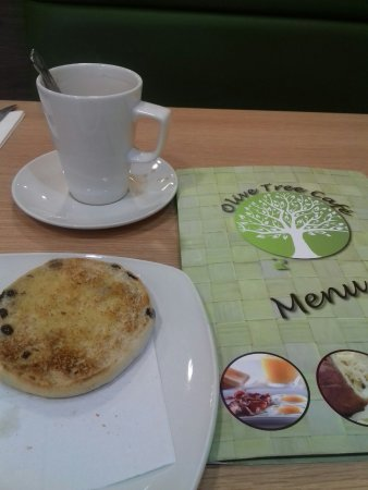 Bromley, UK: The Olive Tree Cafe