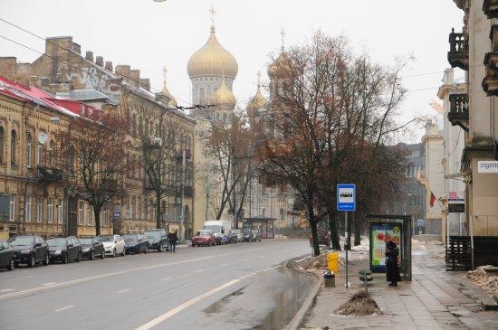 Vilnius Old Town : Vilnius ring road