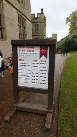 Warwick, UK: Castle tours