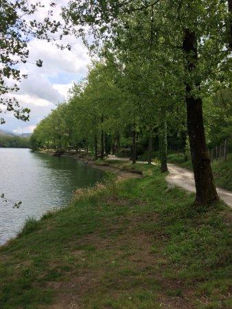 Pieve Fosciana, Italien: il lago