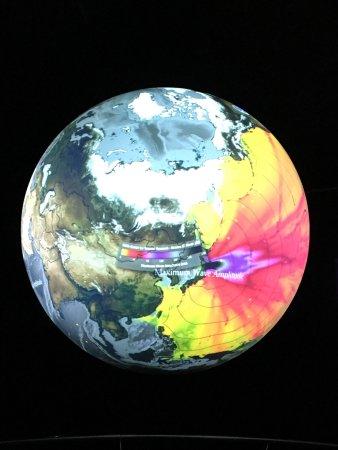 Holeby, Danemark : Globen - Science on a Sphere