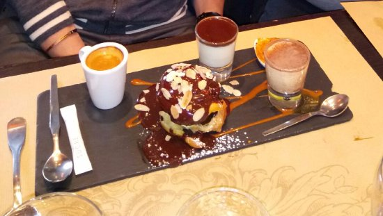 Le café gourmand  Photo de Simeone dellArte, Bordeaux  TripAdvisor