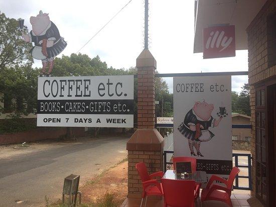 Coffee etc. in Sabie