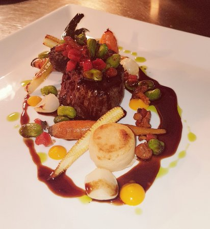 Overton Grange Country Hotel: Beef Fillet