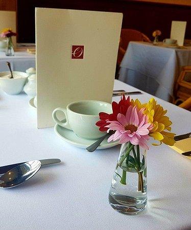 Overton Grange Country Hotel: Ready For Breakfast