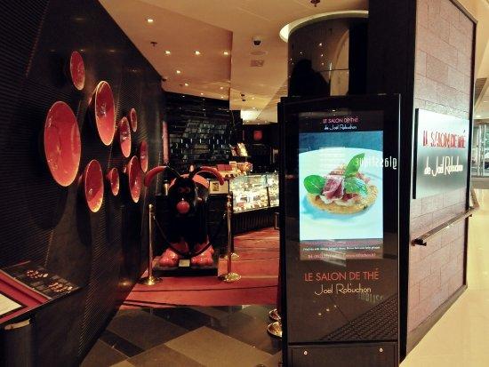 Cafe entrance picture of le salon de the de joel - Salon de joel robuchon ...