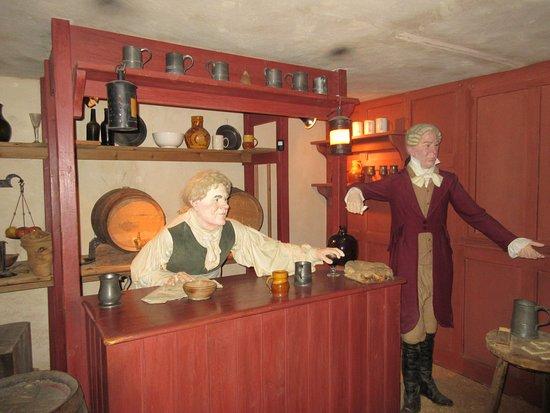 Beaulieu, UK: Pub in Museum