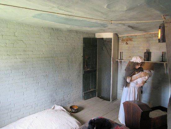 Beaulieu, UK: Bedroom in Museum