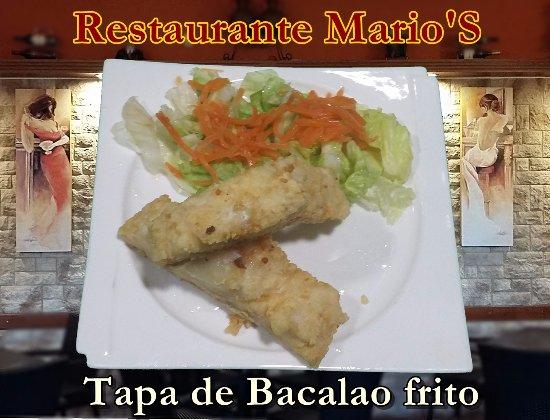 Palma Del Rio, Spain: Bacalao frito