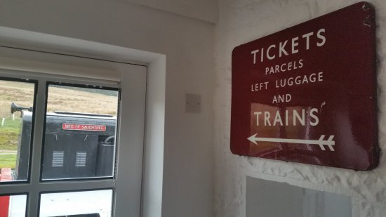 Newcastleton, UK: The old ticket office