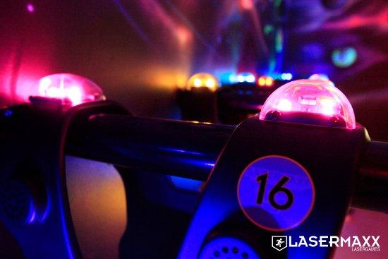 Гельдроп, Нидерланды: Lasergame arena Geldrop