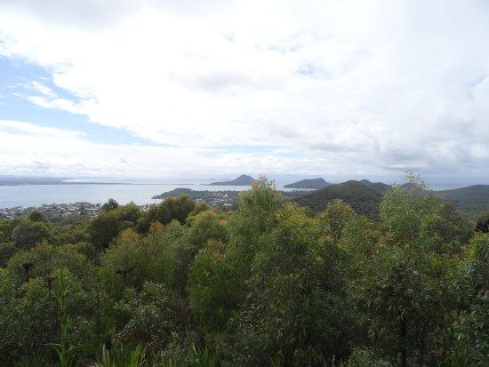 Nelson Bay, Avustralya: Port Stephens views from Gan Gan Lookout