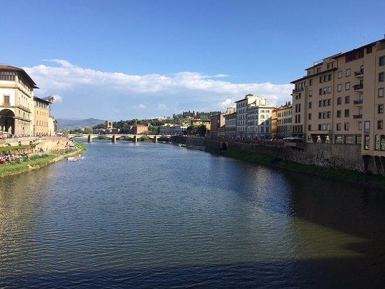 Ponte Vecchio: Vista desde el Puente