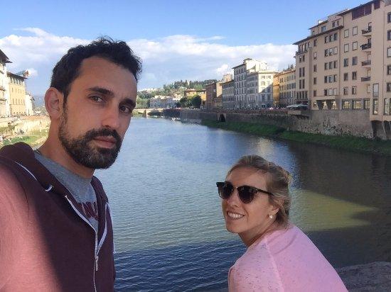 Ponte Vecchio: Hermosa vista!