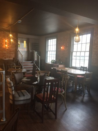 Winslow, UK: The new Loft restaurant upstairs @ The George