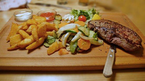 Kuens, Ιταλία: Amerikanische Steakhüfte - Scamone Americano (manzo)