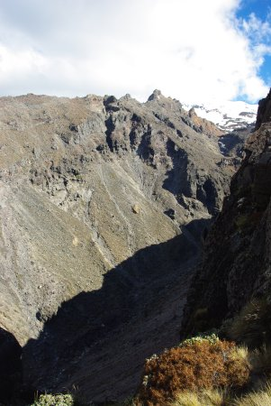 Whakapapa, New Zealand: Volcanic valley.