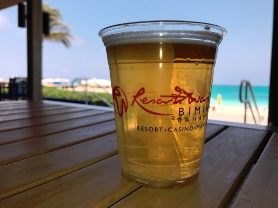 Bimini: Sands beer (at Paradise Beach restaurant).