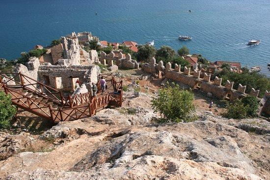The castle - Simena Kalesi, Demre (Kale) Resmi - TripAdvisor