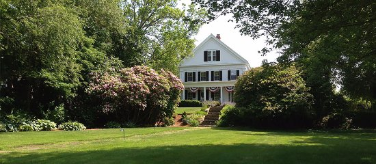 Liberty Hill Inn: This Majestic 1825 Greek Revival home sits on top of the historic land known as Liberty Hill