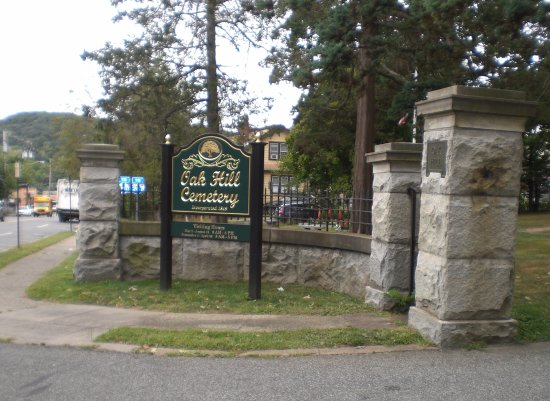Nyack, Νέα Υόρκη: Entrance of Oak Hill Cemetery