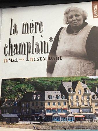 Restaurant La Mere Champlain Cancale