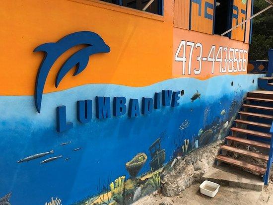 Wyspa Carriacou, Grenada: Lumbadive!
