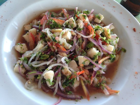 Hurricanes Ceviche Bar & Grill: There was a bunch of seafood in this ceviche and it wasn't too spicy, with habaneros on the side